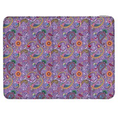 Purple Paisley Samsung Galaxy Tab 7  P1000 Flip Case