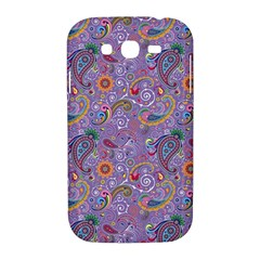 Purple Paisley Samsung Galaxy Grand DUOS I9082 Hardshell Case