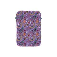 Purple Paisley Apple iPad Mini Protective Sleeve