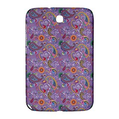 Purple Paisley Samsung Galaxy Note 8.0 N5100 Hardshell Case