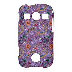 Purple Paisley Samsung Galaxy S7710 Xcover 2 Hardshell Case