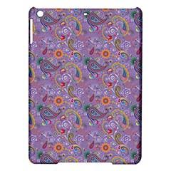 Purple Paisley Apple Ipad Air Hardshell Case