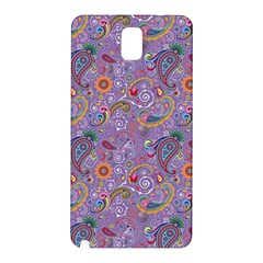 Purple Paisley Samsung Galaxy Note 3 N9005 Hardshell Back Case