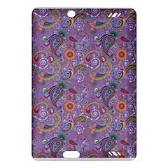 Purple Paisley Kindle Fire HD 7  (2nd Gen) Hardshell Case
