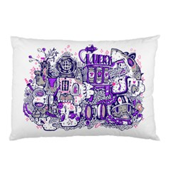 Lucky Land Pillow Case (two Sides)