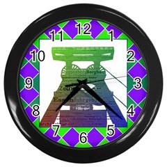 Mine Wall Clock (Black)