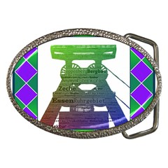 Mine Belt Buckle (Oval)
