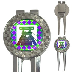 Mine Golf Pitchfork & Ball Marker