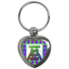 Mine Key Chain (heart)