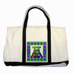 Mine Two Toned Tote Bag