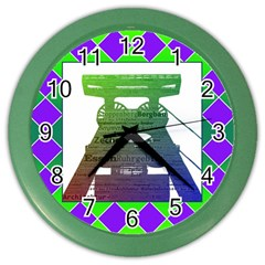 Mine Wall Clock (Color)