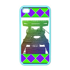 Mine Apple Iphone 4 Case (color)