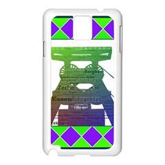 Mine Samsung Galaxy Note 3 N9005 Case (White)