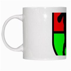 Angry Ogre Games Logo White Coffee Mug
