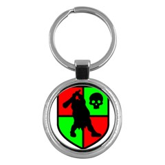 Angry Ogre Games Logo Key Chain (Round)