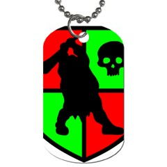 Angry Ogre Games Logo Dog Tag (one Sided)