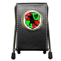 Angry Ogre Games Logo Stationery Holder Clock