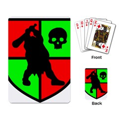 Angry Ogre Games Logo Playing Cards Single Design