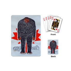 Big Foot H, Canada Flag Playing Cards (mini)