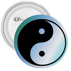 Ying Yang  3  Button