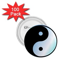 Ying Yang  1.75  Button (100 pack)