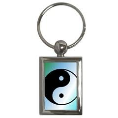 Ying Yang  Key Chain (Rectangle)