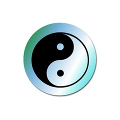 Ying Yang  Magnet 3  (round)