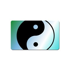 Ying Yang  Magnet (Name Card)