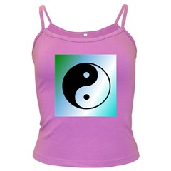 Ying Yang  Spaghetti Top (Colored)