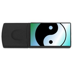 Ying Yang  4gb Usb Flash Drive (rectangle)