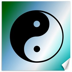 Ying Yang  Canvas 20  X 20  (unframed)