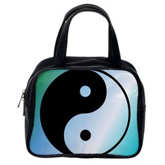 Ying Yang  Classic Handbag (one Side)