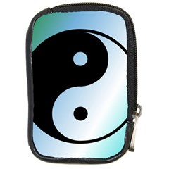 Ying Yang  Compact Camera Leather Case