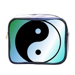 Ying Yang  Mini Travel Toiletry Bag (One Side)