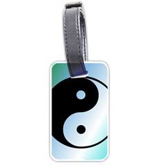 Ying Yang  Luggage Tag (One Side)