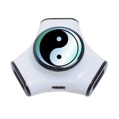 Ying Yang  3 Port USB Hub