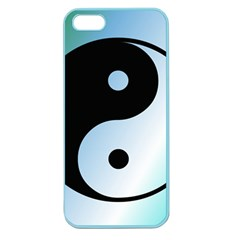 Ying Yang  Apple Seamless Iphone 5 Case (color)