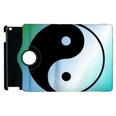 Ying Yang  Apple iPad 3/4 Flip 360 Case