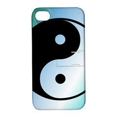 Ying Yang  Apple Iphone 4/4s Hardshell Case With Stand
