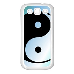 Ying Yang  Samsung Galaxy S3 Back Case (white)