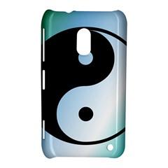 Ying Yang  Nokia Lumia 620 Hardshell Case