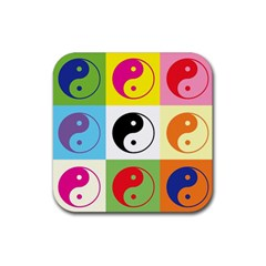 Ying Yang   Drink Coasters 4 Pack (Square)