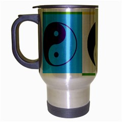 Ying Yang   Travel Mug (silver Gray)
