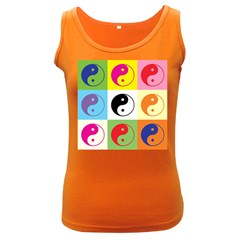 Ying Yang   Women s Tank Top (dark Colored)