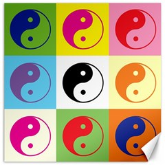 Ying Yang   Canvas 12  x 12  (Unframed)