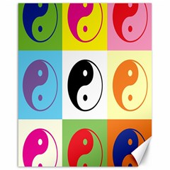 Ying Yang   Canvas 16  x 20  (Unframed)