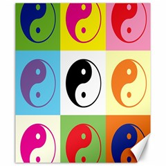 Ying Yang   Canvas 20  x 24  (Unframed)