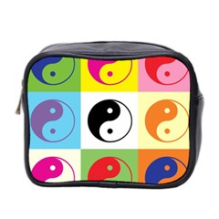 Ying Yang   Mini Travel Toiletry Bag (two Sides)