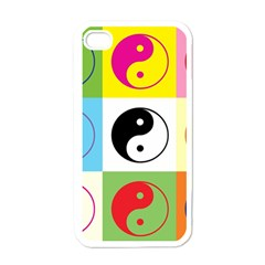 Ying Yang   Apple Iphone 4 Case (white)