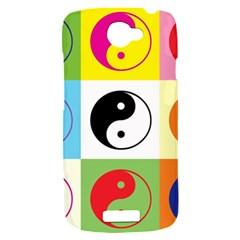 Ying Yang   HTC One S Hardshell Case